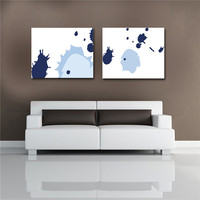 modern abstract simplism oil painting canvas frameless painting wall art