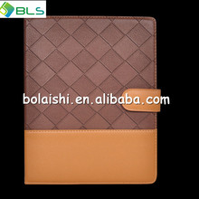 colour matching leather case for ipad air case,for apple ipad air case