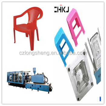 Plastic adult chair injection molding making machine