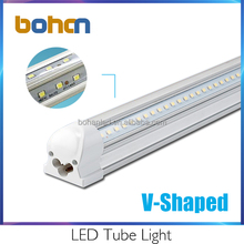 2ft/3ft/4ft/8ft high output v-shape led tube