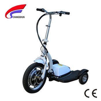 3 Wheel Folding Electric Scooter Trike For Elderly