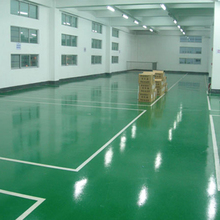 Workshop and Warehouse Liquid Paint Rubber Flooring