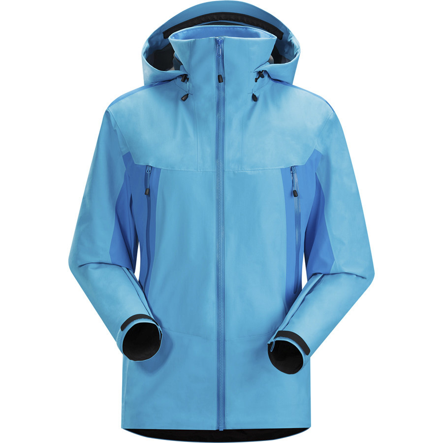 wholesale mens custom softshell outdoor hooded jacket