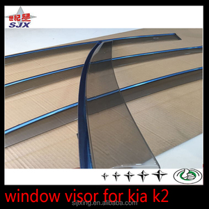 4 pcs window visor/vent shade/rain sun wind deflector fit for K5 k2 k3 cars