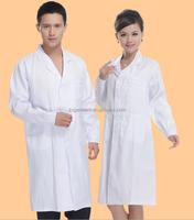 hospital lab coat jacket/Doctor Coats/ doctor nurse unisex lab coat