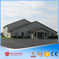 2016 New Arrival Steel Structure Frame Durable Firm Q235 Grade Structural Steel Prefabricated Warehouse Workshop Villa House Hot