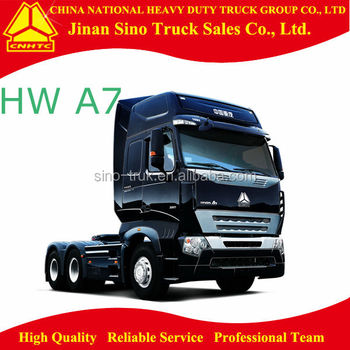 Howo A7 Euro 3 6*4 tractor for right hand drive