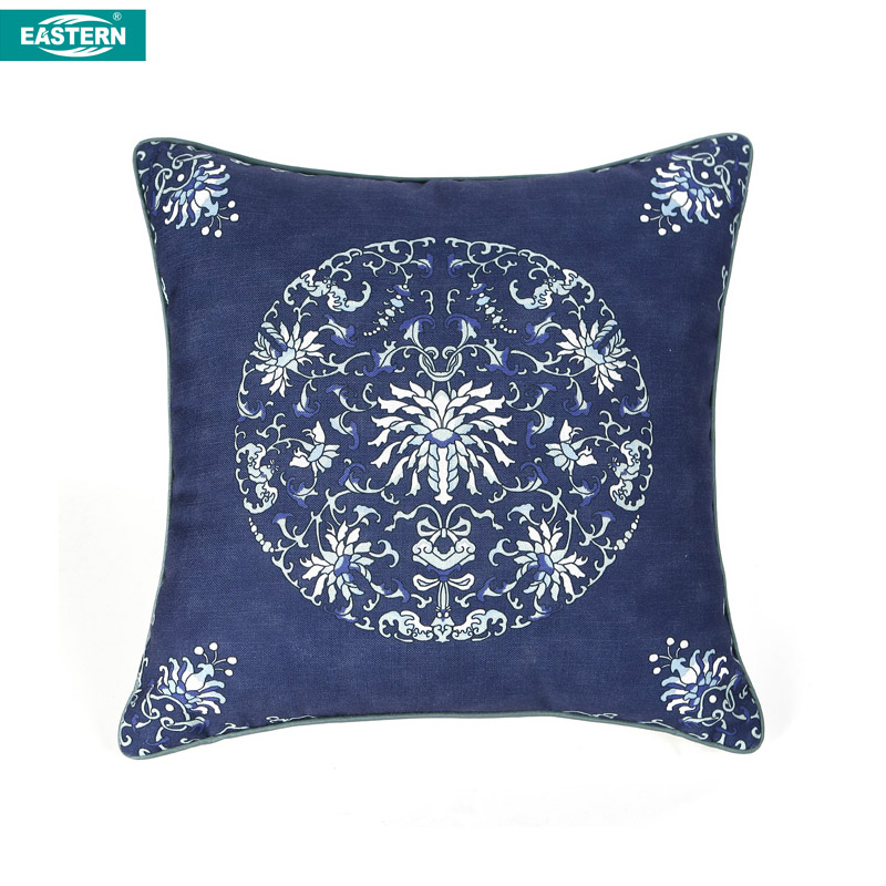 The traditional Chinese style pillow case cushion cover throw pillow case