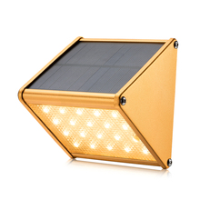 Newest Solar led garden light 20 LED solar wall lamp outdoor Radar solar power led light fence gutter garden