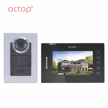 China Factory ACTOP Wired Telephone Intercom System for Smart Home