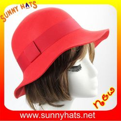 2016 Hot fashion Korean Style colorful high quality competitive advantage customized honey girl faux fur wool bucket hat