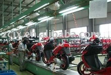 scooter assembly production line