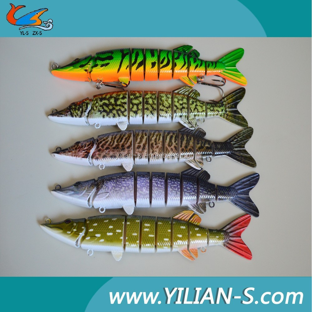 High quality fishing tackle artificial pike