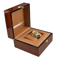High Quality Antique Oil Painting Wooden Gift Pack Watch Box Case Durable Recollection Men's Watches Display Boxes Wholesale