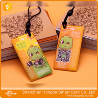 Good Quality Epoxy Customized Rfid Solutions Smart Crystal Card