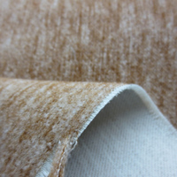 Heavy woven polyester brushed upholstery sofa fabric