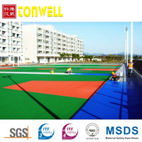 Weather resistance synthetic rubber Acrylic resin stadium floor paint