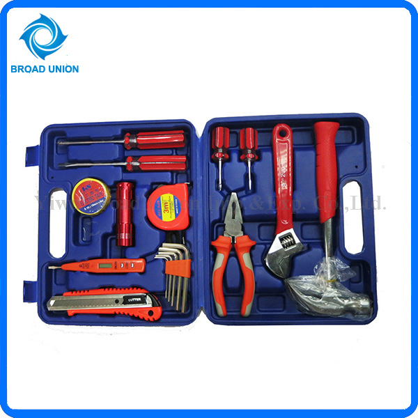 17PC Hot Selling Household Tools Set Portable Tool Kit