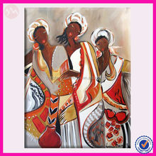 OEM best service african new style oil painting