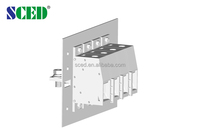 Heavy duty terminal blocks 35.0mm 600V 285A Through wall terminal used for switches electronic