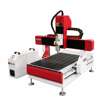 Heavy Duty Iron Cast Frame Mini CNC Milling Machine for Aluminum Brass Metal Wood MDF Acrylic Plywood Desktop CNC Router 6090