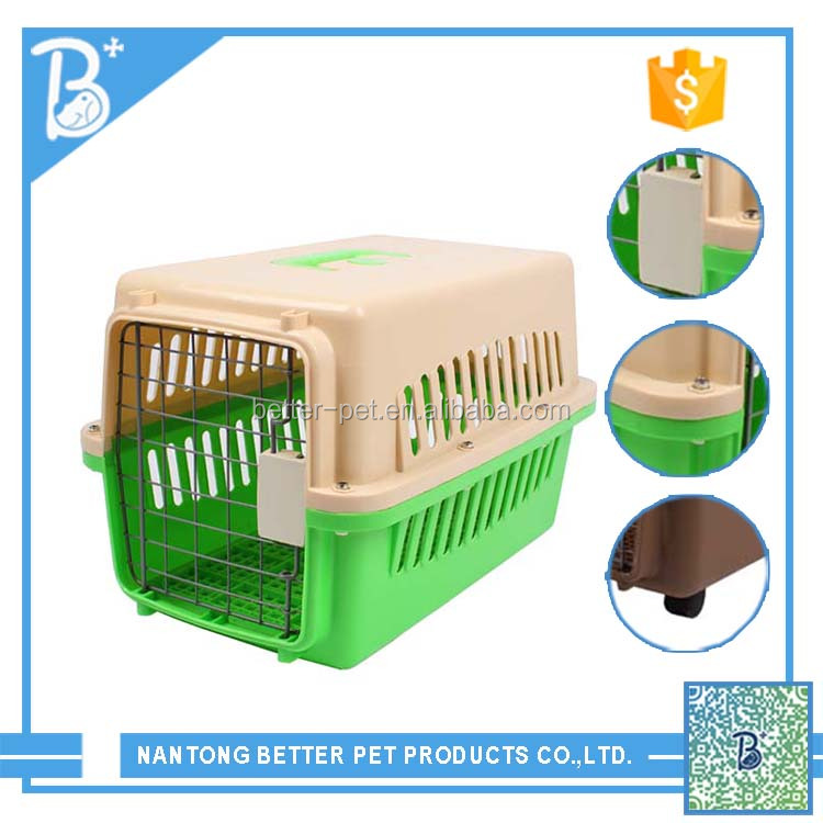 Our factory selling Plastic dog cages Pet Products large dog carrier