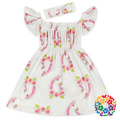 2017 Cheap Unicorn Prints Girls Party Dresses Pakistani Girls Frocks And Puffy Dresses With Headband On Sale Price In Yiwu