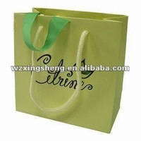 small order Free samples handicraft fruit basket 2013 high quality fashion paper bag