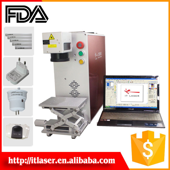 Medical equipment 10W 30W 20W laser marking machine laser engraving machine metal