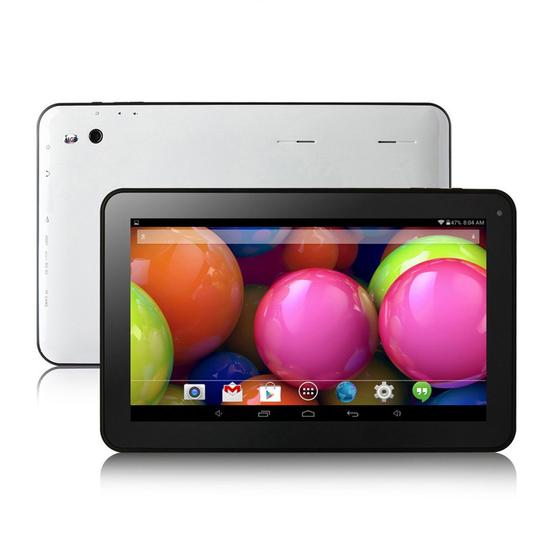 "High Quality 10"" Inch Tablet PC 8 GB DUAL With Camera WIFI P&P For Android 4.4 Kitkat QUAD CORE White Color"