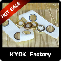 KYOK Foshan Custom Drapery Punched Vtapes, Durable Curtain Pole Eyelet Punch Tapes Good Supplier