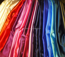 cheap polyester satin fabric / wholesale textile material