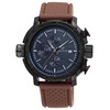 Hot Sale Best Fashion Silicone Band Business Brand OEM Multifunctional Quartz Movt Sports Chronograph Watch
