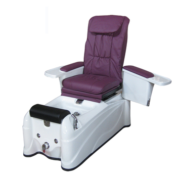 Cheap purple whirlpool spa pedicure chair for beauty salon equipment(S018)