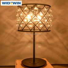 Room Decoration Desk Lamp Design Crystal Chandelier Bedside Table Lamp