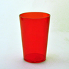 top sale 400ml christmas disposable colored cup promotional plastic cups