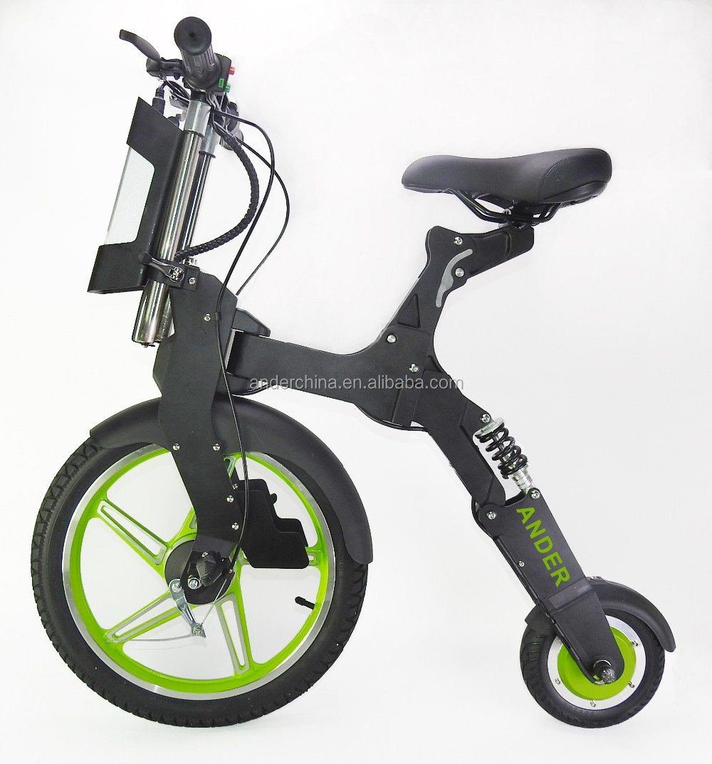 Light weight adult two wheel folded electric bike for sale