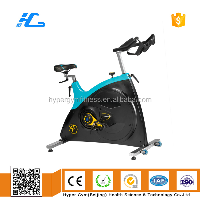 2017 New design gym equipment spinning bike high quality orange 077L