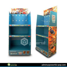 retail stores cardboard promotional stand display for food