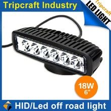 Cheap price atv 1530LM 18W OFFROAD LED WORK LIGHT 12/24v auto Led Work Light Mini Offroad Light for all auto vechiel used car