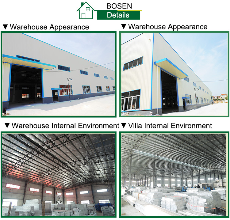low cost prefab workshop made in china warehouse for producing