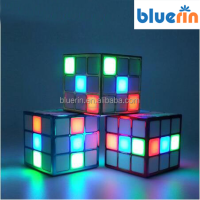 Magic cub speaker Portable Disco Dancing Party Mini Led Light Bluetooth Speaker