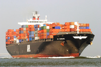 Container shipping company from Shanghai to Dubai