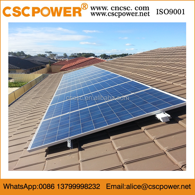 cscpower easy install 5KW hybrid 220v solar systems 5000w home roof system