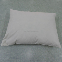 Duck goose down feather filled small and soft pillow insert/inner/sofa cushion