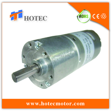 6V~24V 37mm gearbox spur geared low rpm permanent magnet dc motors