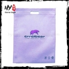 Easy to wash eco-friendly laminated bag, plastic drawstring bag, small recycled non-woven pouch