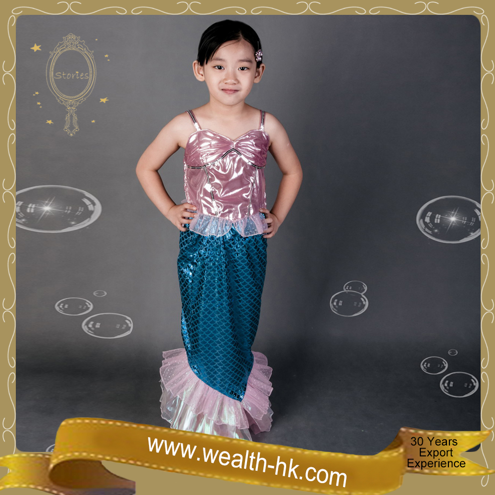 Pretty Little Mermaid Ariel Fairy Mermaid Costume