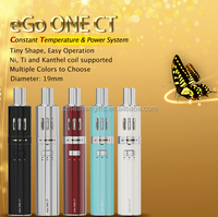New vapor pen kit joyetech ego one VT start Kit with temperature control VS ego one CL vape pen