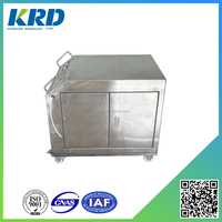 LYC Movable Used Cooking Oil and Hydraulic Oil Filtration Machine